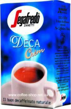Кофе Segafredo Deca Cream молотый без кофеина 250г