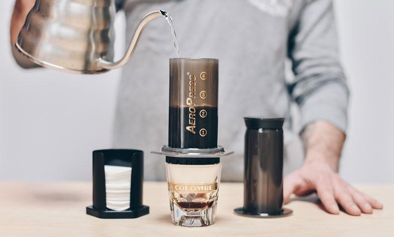 Ручная кофеварка AeroPress-3