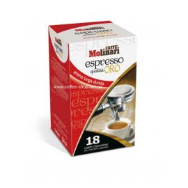 "Molinari ""ORO"" Espresso кофе в чалдах"