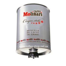 """Кофе Molinari COFFEE BEANS """"CINQUE STELLE""""  зерновой 3 кг"""