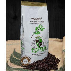 Кофе Mokasol BIO Organic в зернах 1 кг