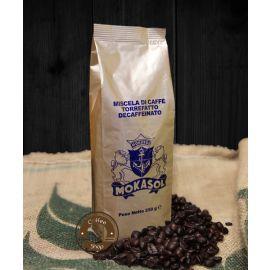 Кофе Mokasol Decaffeinato в зернах без кофеина 250 г