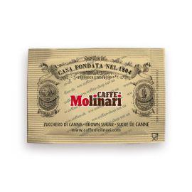 Сахар для кофе Molinari (тросниковый)