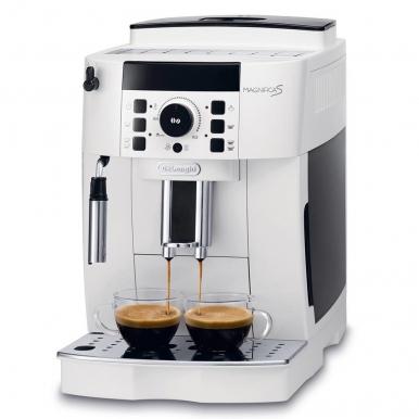 Автоматическая кофемашина DeLonghi ECAM 21.117.W