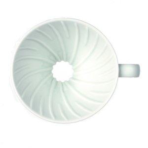 Воронка пуровер Hario VDC-01W V60 ceramic