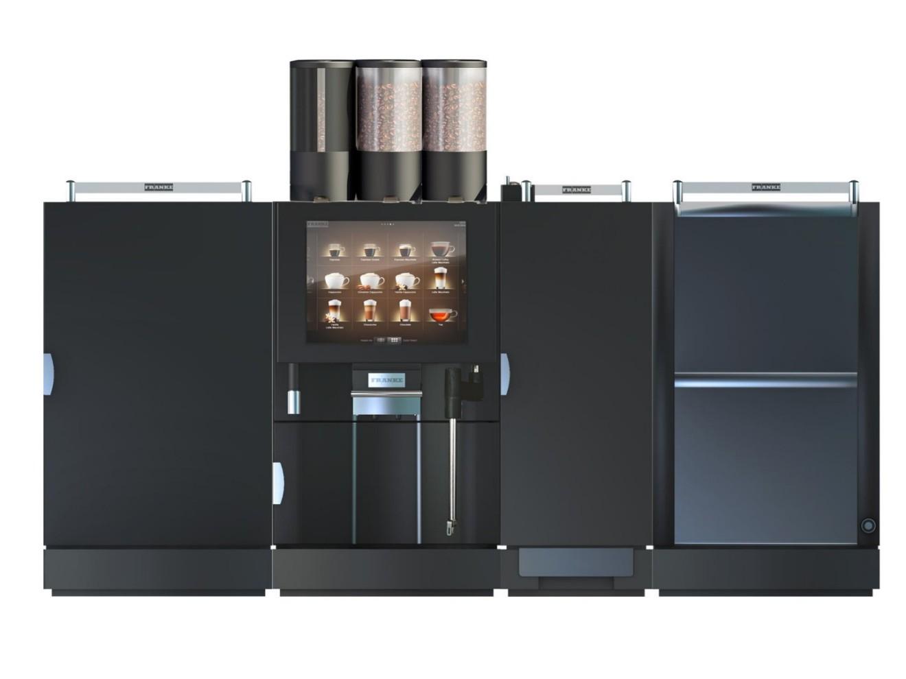 16291 | Кофемашина суперавтомат Franke FM800 Foam Master б/у | Coffee Shop