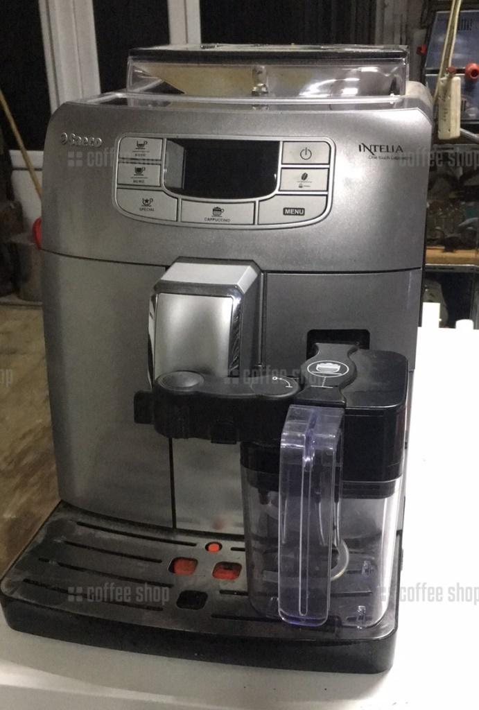 16415 | Кофеварка Saeco Intelia One Touch Cappuccino б/у | Coffee Shop