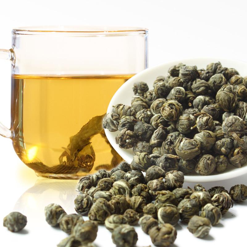 OS 29 | Зеленый чай Зеленые жемчужины Османтус 500 г | Coffee Shop