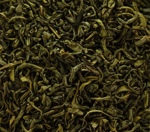 OS 37   Зеленый чай Нежный Хусон Османтус 500 г   Coffee Shop