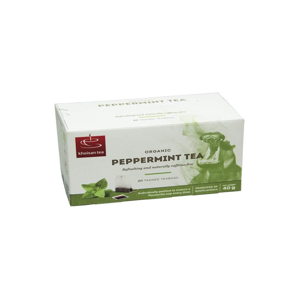 OS 147 | Травяной чай Мятный Khoisan в конвертах 20 шт | Coffee Shop