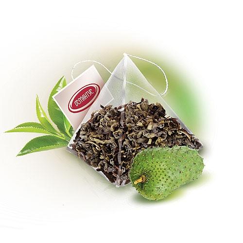 OS 153   Зеленый чай саусеп экстра Османтус в пирамидках 50 шт   Coffee Shop
