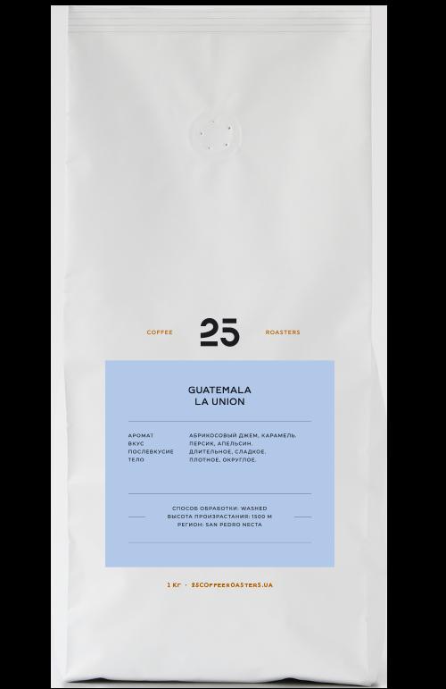 2019   Кофе в зернах 25 Coffee Roasters Guatemala La Union 1 кг   Coffee Shop