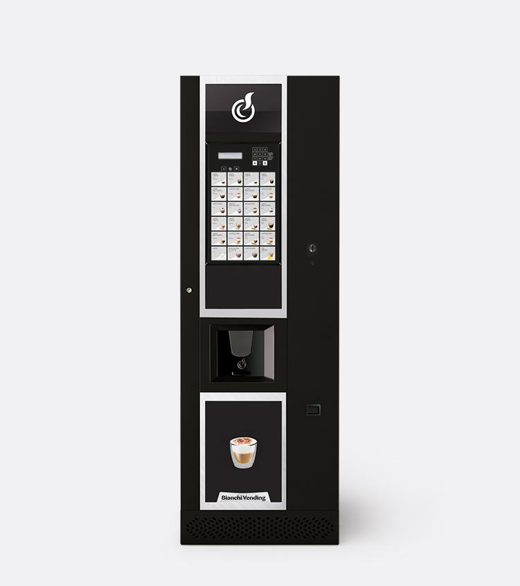 LEI600ES03BV | Кофейный автомат Bianchi Lei 600 1ES-6 SB Smart | Coffee Shop