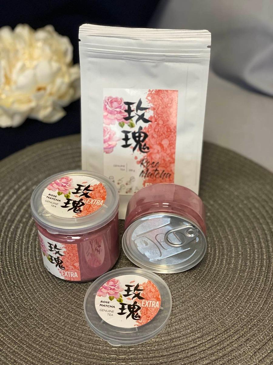 167 | Розовый чай Матча Екстра 50 г | Coffee Shop