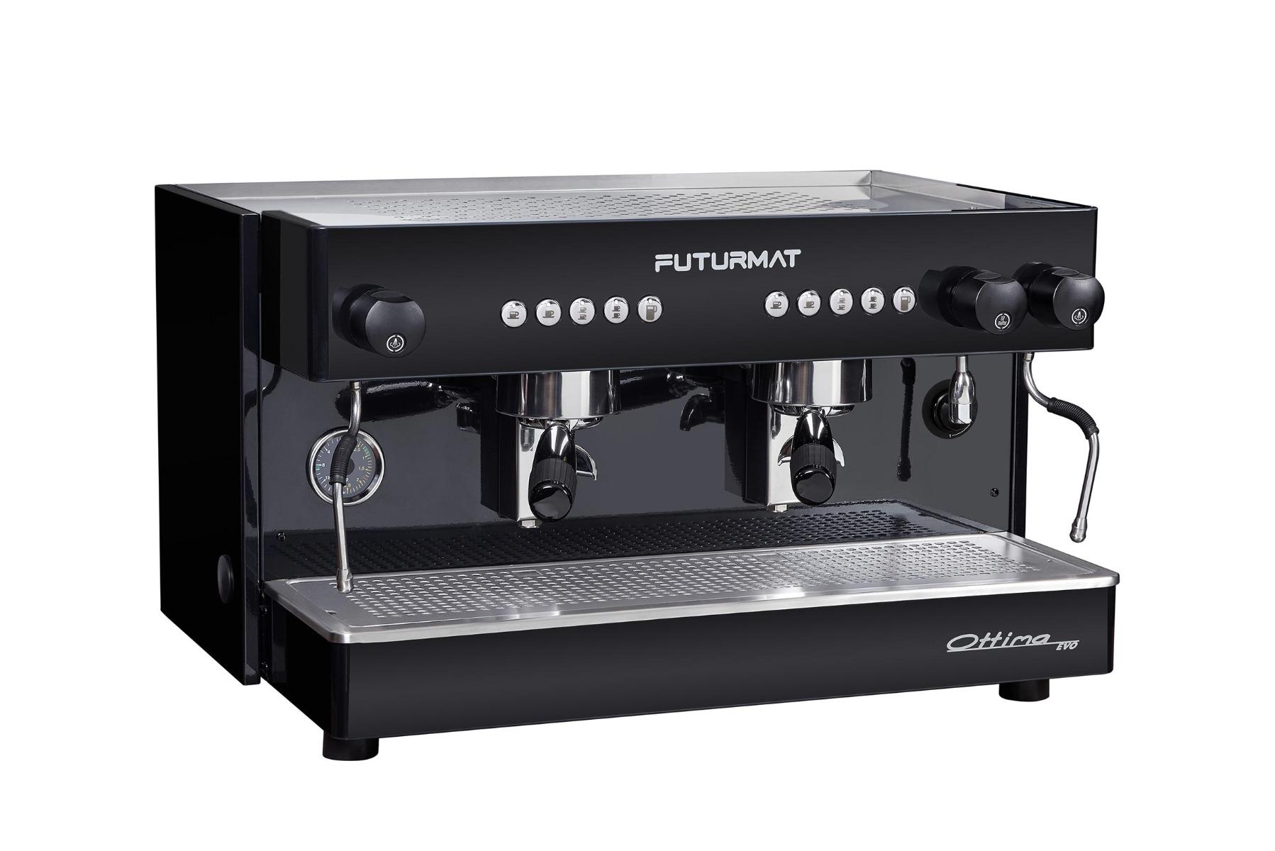 1457   Кофемашина профессиональная Futurmat Ottima Evo   Coffee Shop