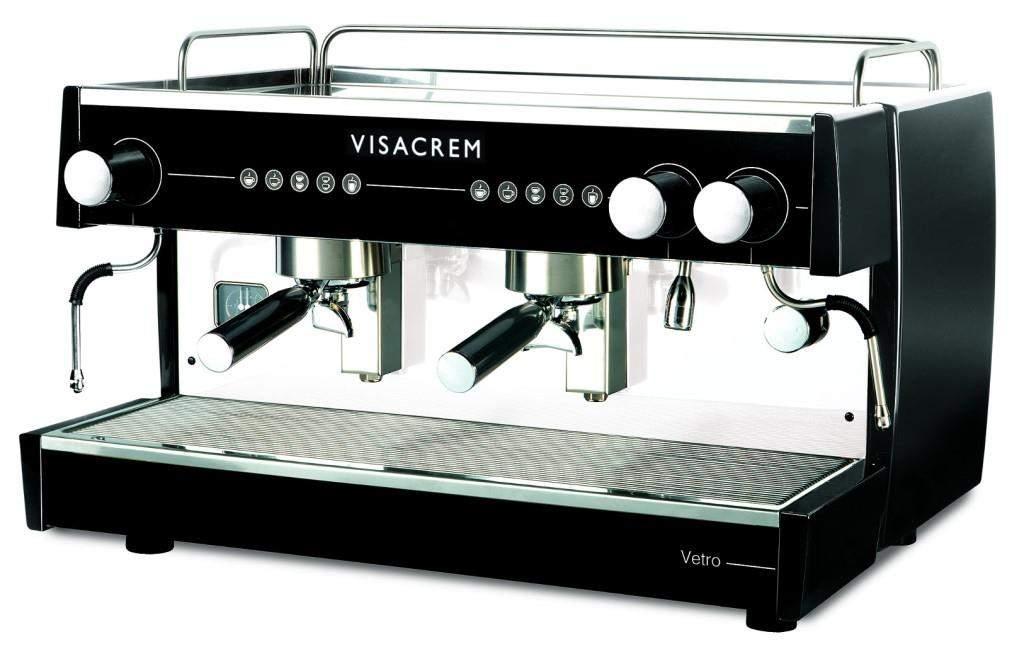 1458 | Кофемашина профессиональная Futurmat Visacrem Vetro 2GR | Coffee Shop