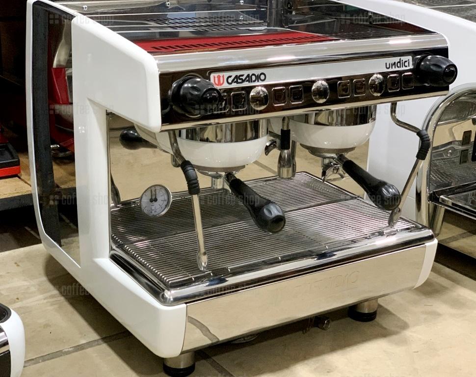 16474 | Кофемашина профессиональная Casadio Undici A2 Compact б/у | Coffee Shop