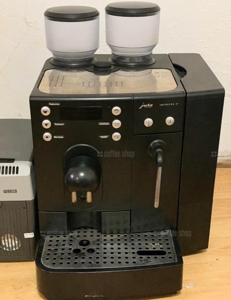16482 | Кофемашина автоматическая Jura Impressa X7 б/у | Coffee Shop
