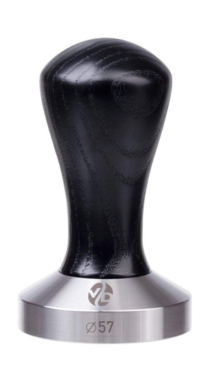 7041   Темпер VD Coffee 57 мм Black плоский   Coffee Shop