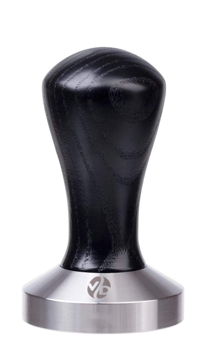 7021 | Темпер VD Coffee 53 мм Black плоский | Coffee Shop