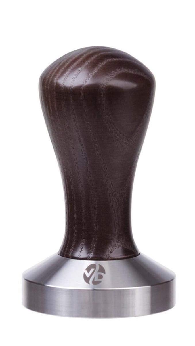 7022 | Темпер VD Coffee 53 мм Venge плоский | Coffee Shop