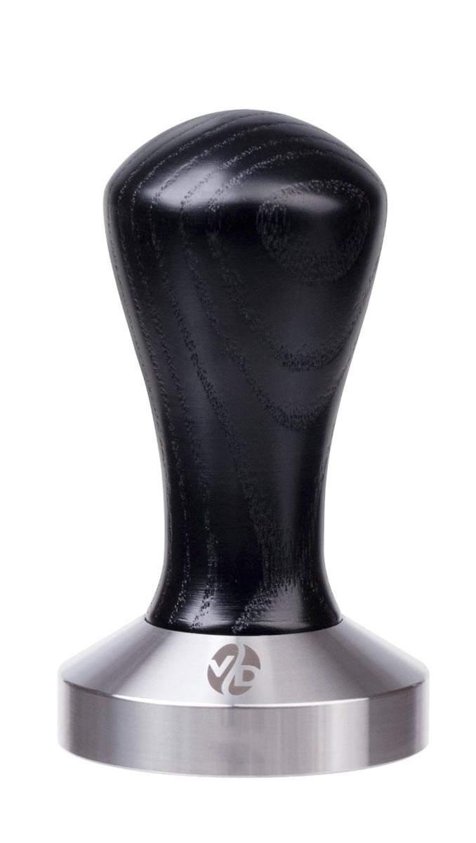 7011   Темпер VD Coffee 51 мм Black плоский   Coffee Shop