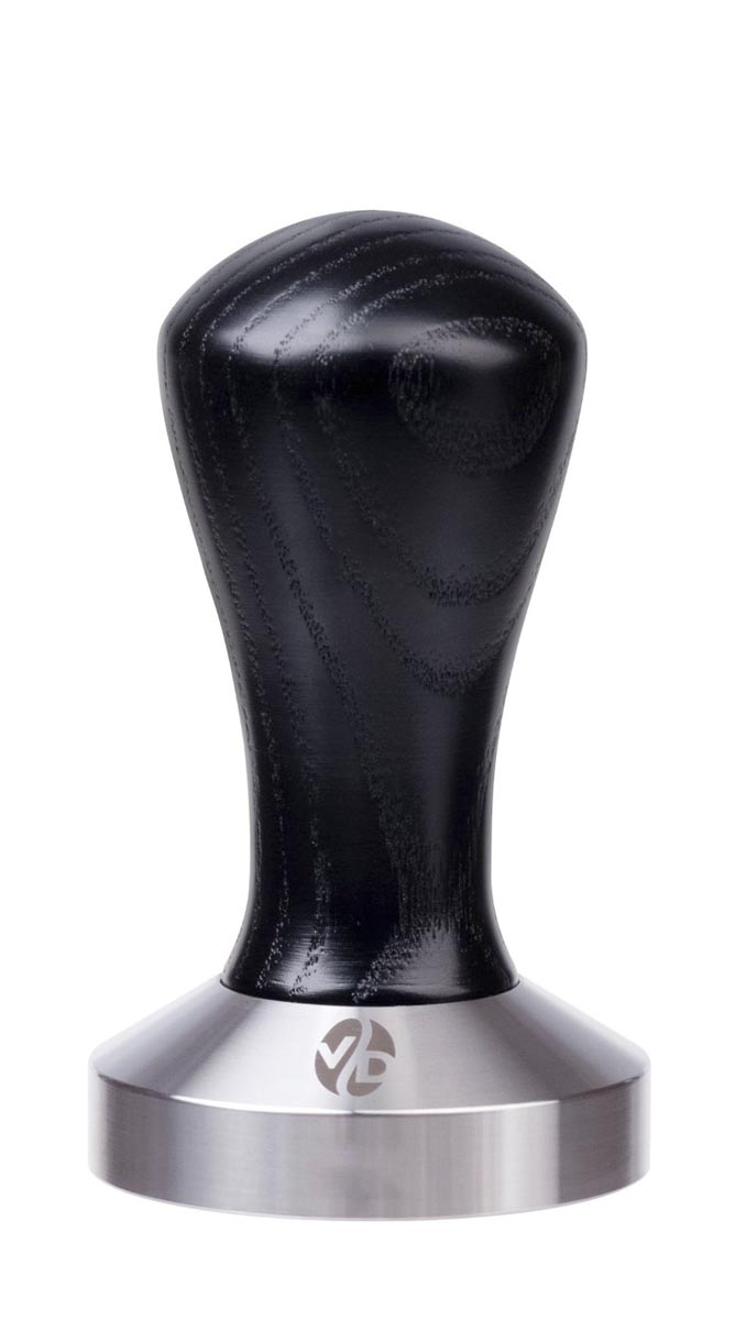 7001 | Темпер VD Coffee 49 мм Black плоский | Coffee Shop