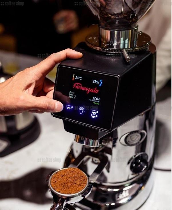 13985 | Кофемолка Fiorenzato F64 E Chrome | Coffee Shop