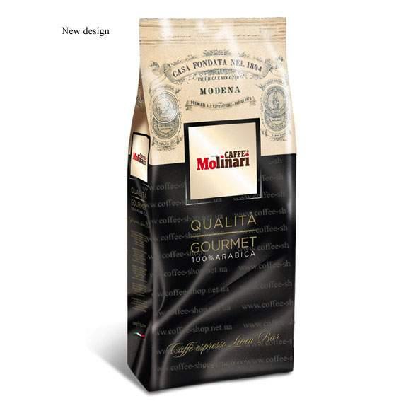 7150 | Кофе в зёрнах Molinari 100% ARABICA  BLEND 500 г | Coffee Shop