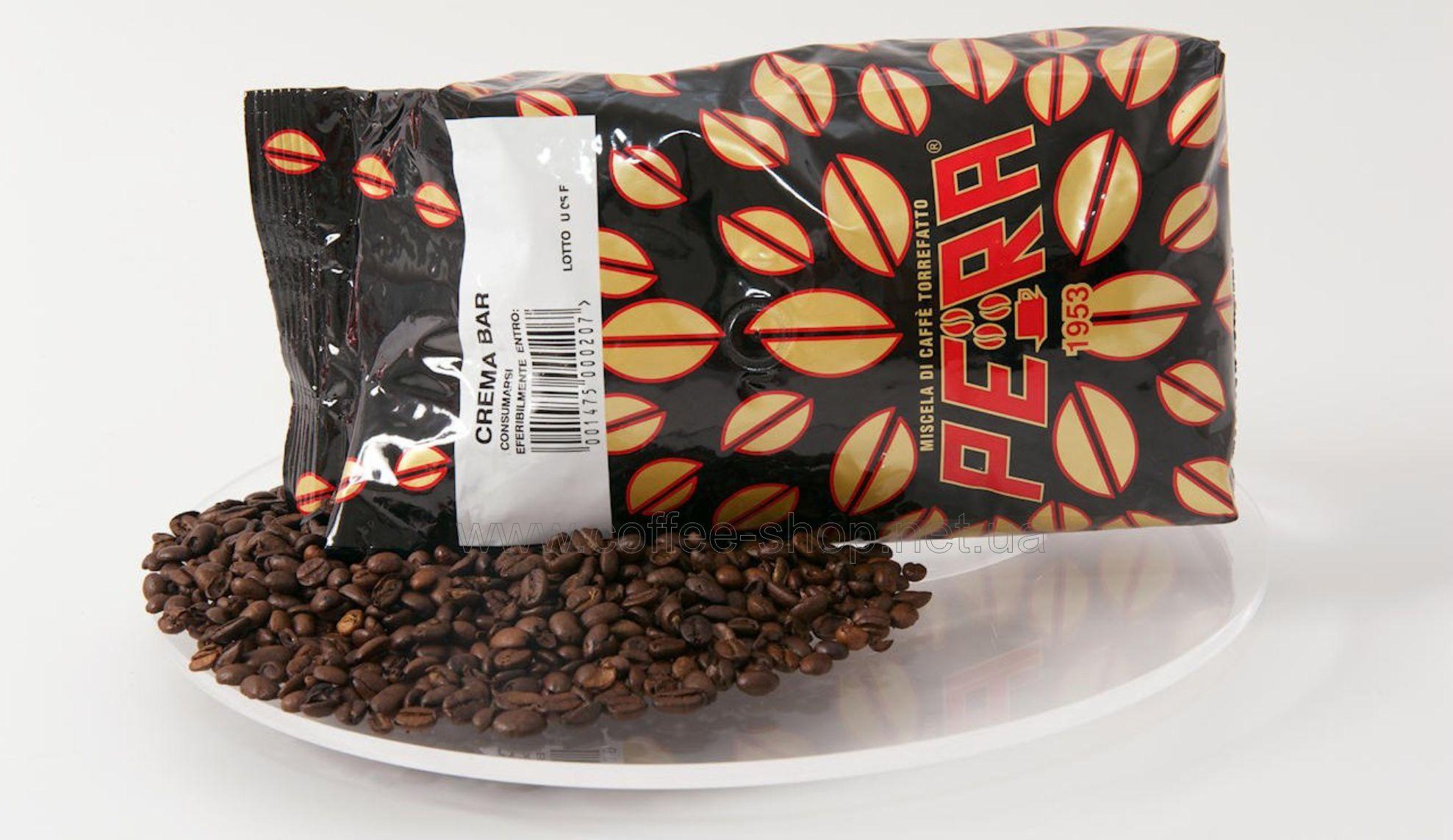 1101 | Кофе в зёрнах Pera Crema BAR 1 кг | Coffee Shop