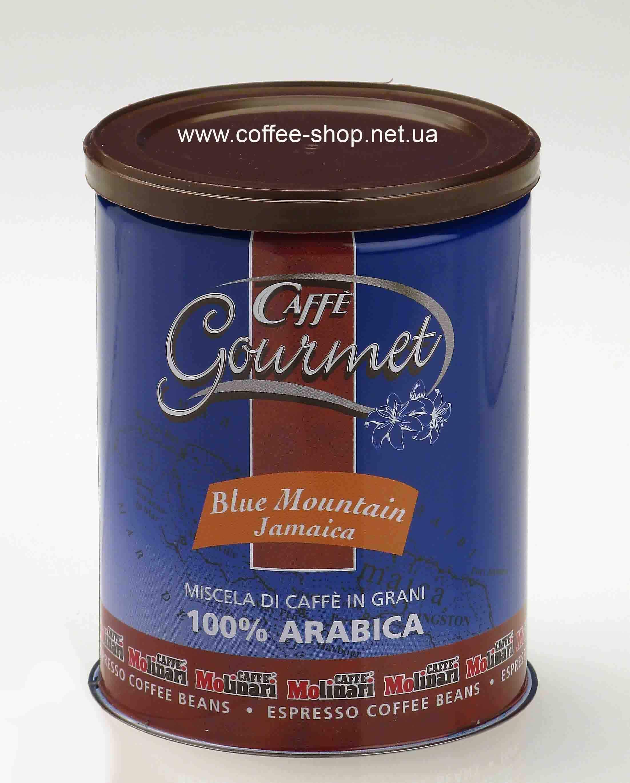 7824   Кофе в зёрнах Molinari Jamaica Blue Mountain 250 г   Coffee Shop