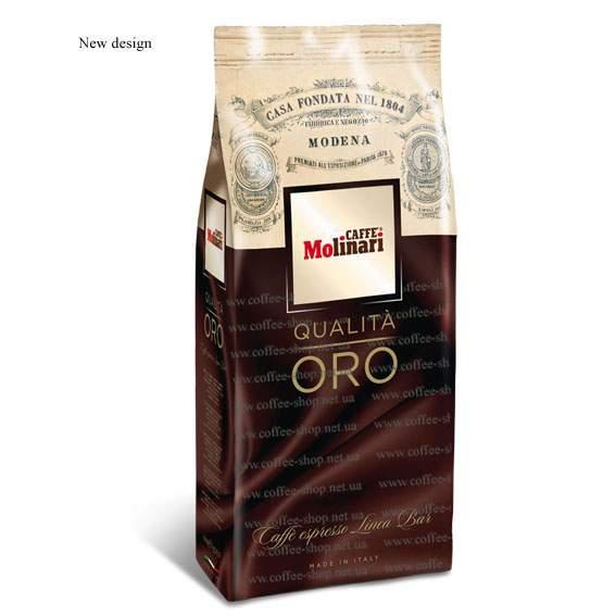 6071 | Кофе в зёрнах Molinari ORO CINQUE STELLE 1 кг