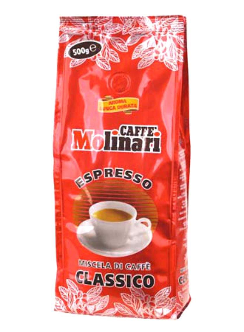 4650 | Кофе в зёрнах Molinari CLASSICO 500 г | Coffee Shop