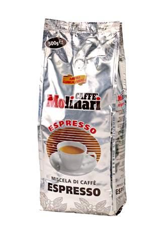 1851 | Кофе в зёрнах Molinari ESPRESSO 500 г | Coffee Shop