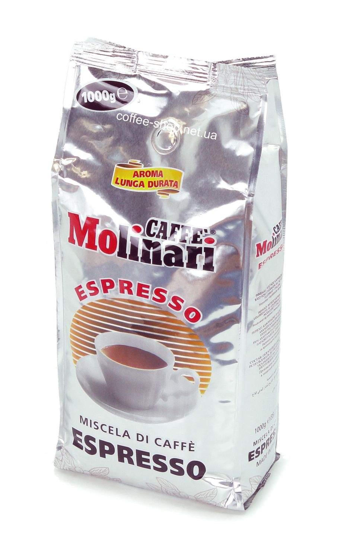 1891   Кофе в зёрнах Molinari ESPRESSO 1 кг   Coffee Shop