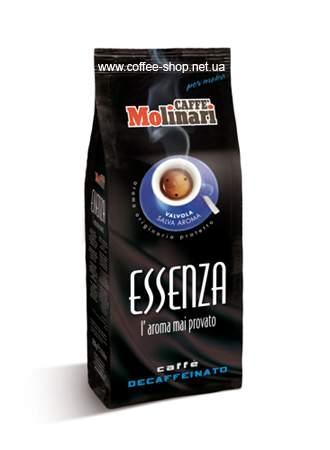 1920E | Кофе молотый без кофеина Molinari Essenza Espresso Decaffeinato 250 г | Coffee Shop