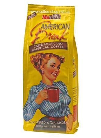 9925 | Кофе молотый Molinari FILTER COFFEE Americano 250 г | Coffee Shop