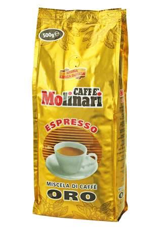 1650 | Кофе в зёрнах Molinari ORO 500 г | Coffee Shop
