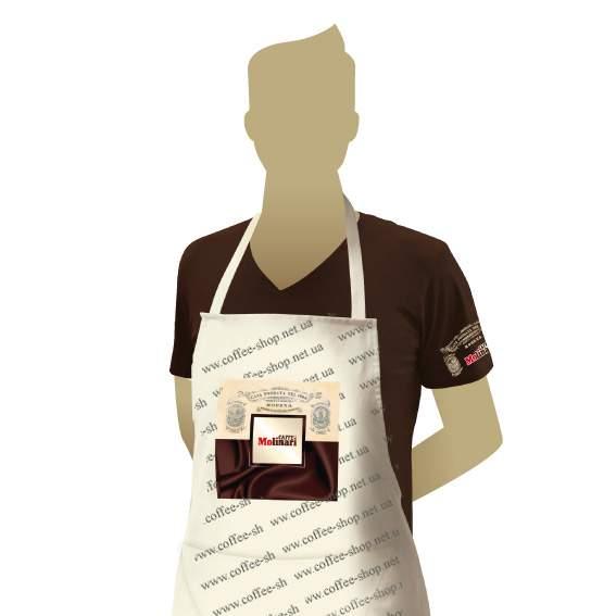 10951 | Фартук бариста c логотипом Molinari | Coffee Shop