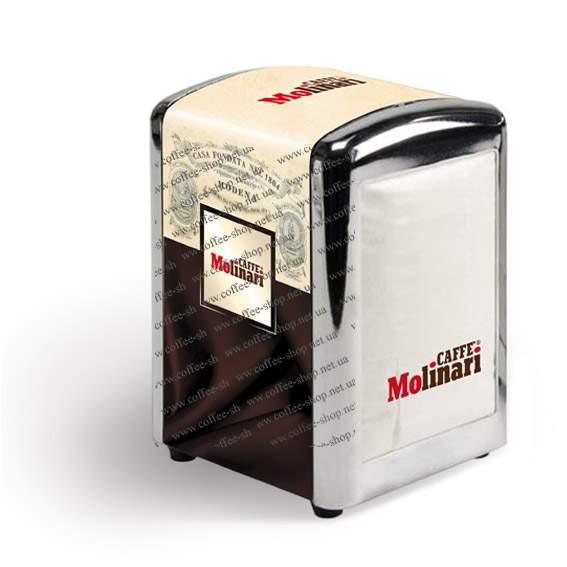 10917 | Салфетки с логотипом Molinari | Coffee Shop