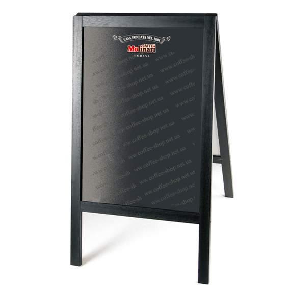 40060 | Рекламный штендер с логотипом Molinari | Coffee Shop