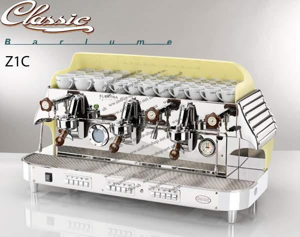 1519-Z1C | Кофемашина профессиональная Elektra Classic Barlume Z1C 3GR | Coffee Shop