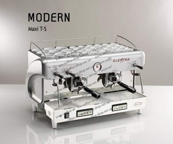 1524-T-S | Кофемашина профессиональная Elektra Modern Maxi T-S | Coffee Shop