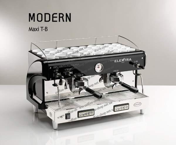 1525-T-B | Кофемашина профессиональная Elektra Modern Maxi T-B | Coffee Shop