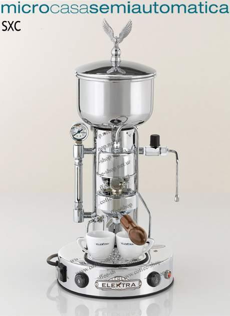 1534-SXC | Кофеварка Elektra Micro Casa semi-automatica SXC | Coffee Shop