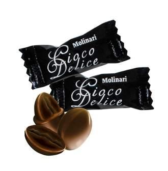 8011   Кофейное зерно в шоколаде Molinari Cioco Delice 1 кг   Coffee Shop