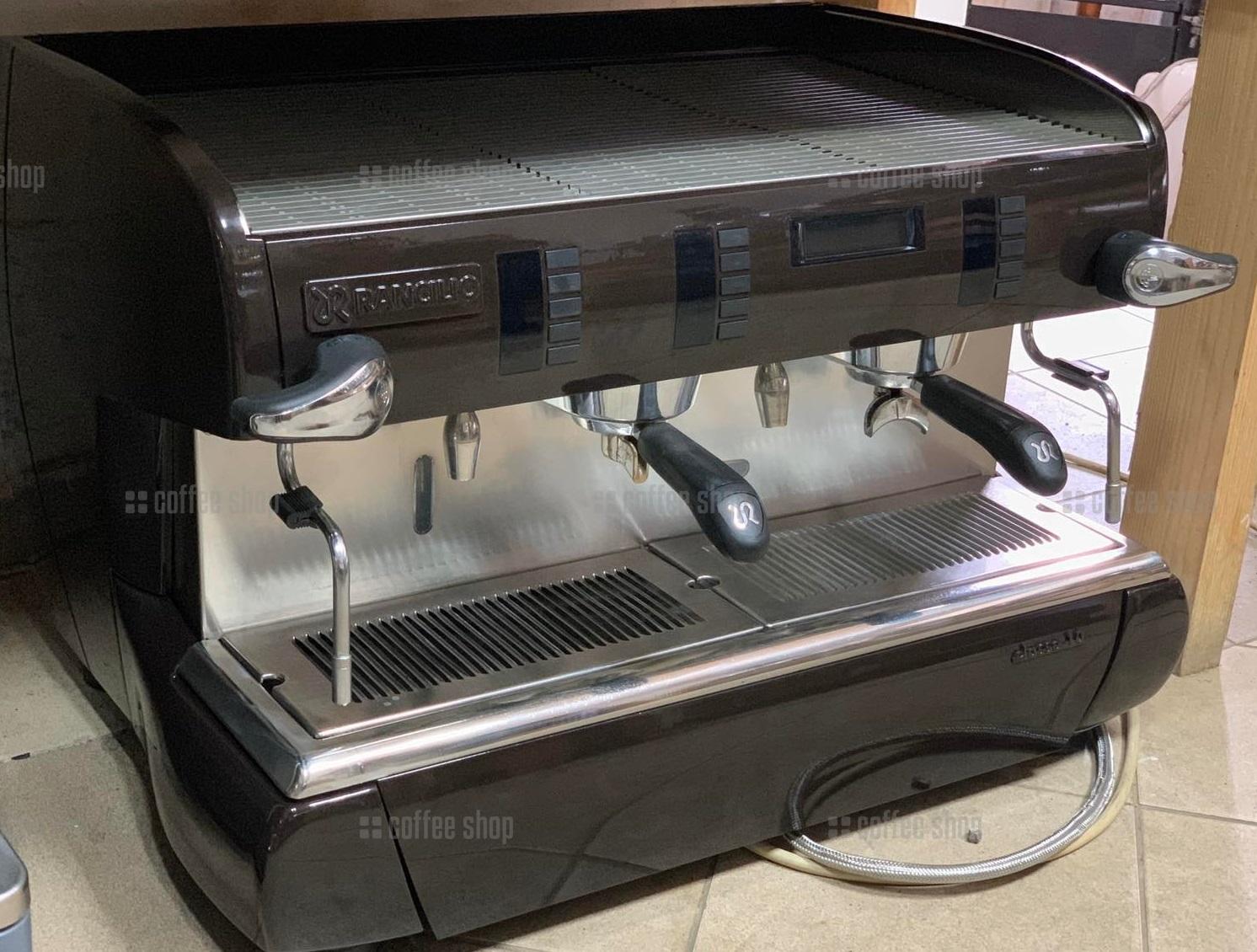 1609 | Кофемашина профессиональная Rancilio Classe 10 Auto б/у | Coffee Shop
