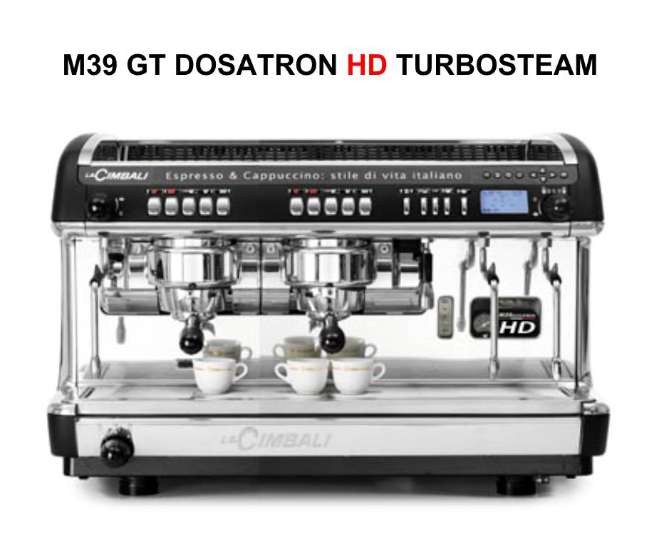 1700 | Кофемашина профессиональная La Cimbali M39 GT Dosatron HD Turbosteam DT/2 | Coffee Shop