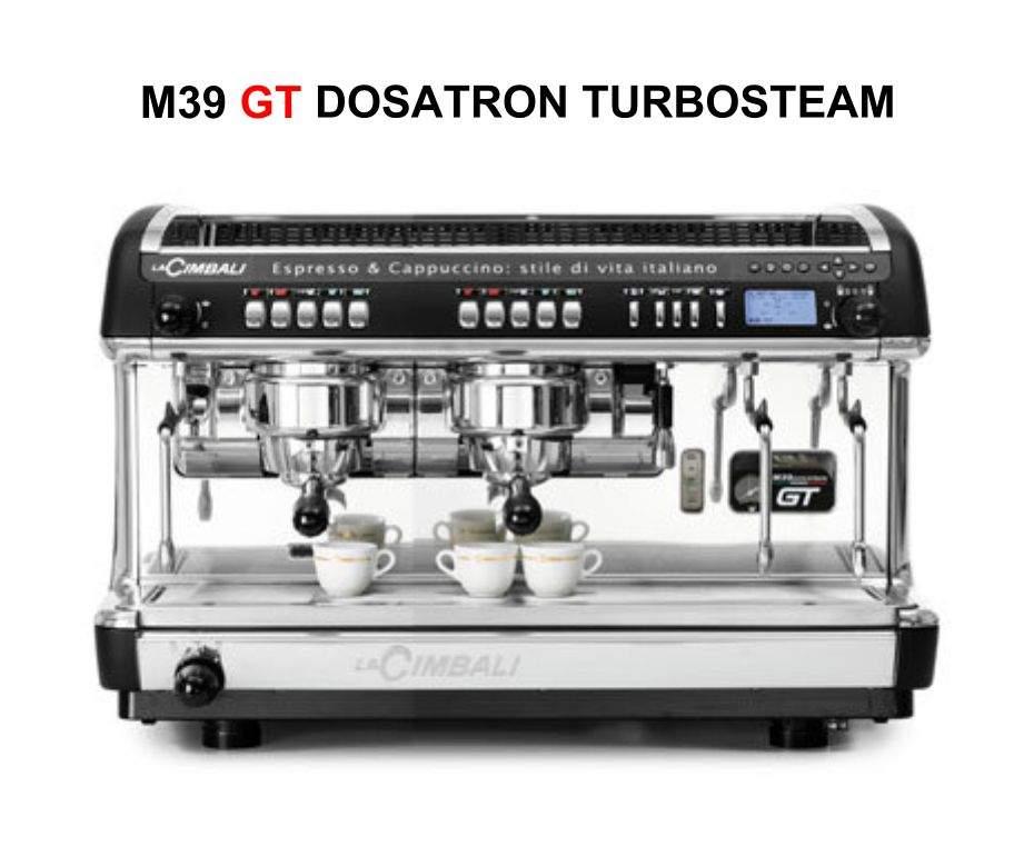 1702   Кофемашина профессиональная La Cimbali M39 GT Dosatron Turbosteam DT/2   Coffee Shop
