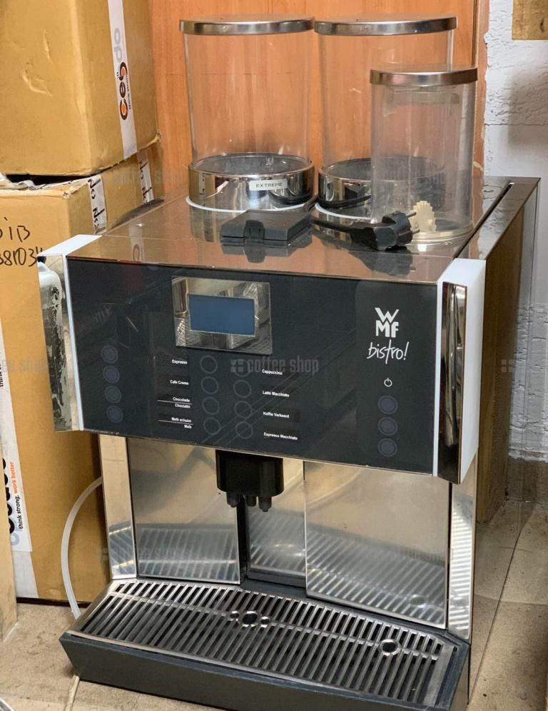1634 | Кофемашина суперавтомат WMF Bistro б/у | Coffee Shop